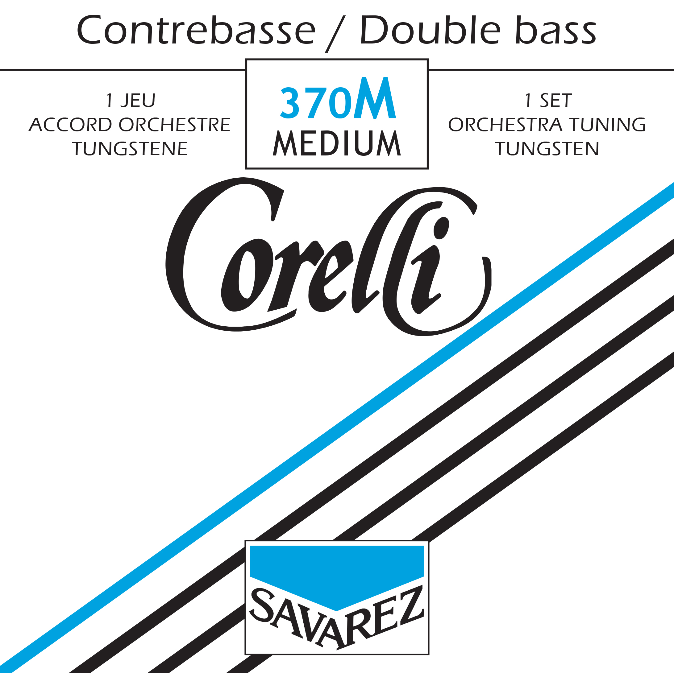 CORELLI TENSION MEDIUM 370M JEU TUNGSTENE ORCHESTRE