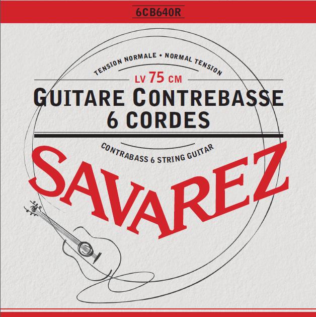 GUITARE CONTREBASSE 6 CORDES 6CB640R