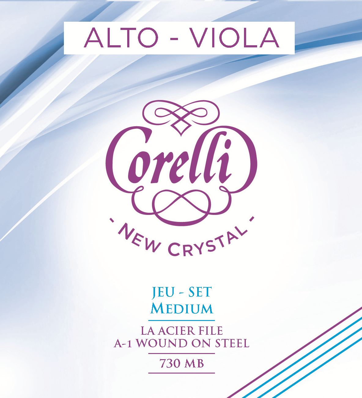 CORELLI NEW CRYSTAL MEDIUM 730MB ALTO