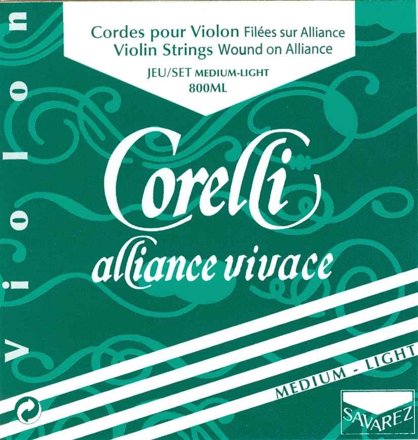 CORELLI ALLIANCE VIVACE MEDIUM LIGHT 800ML VIOLON