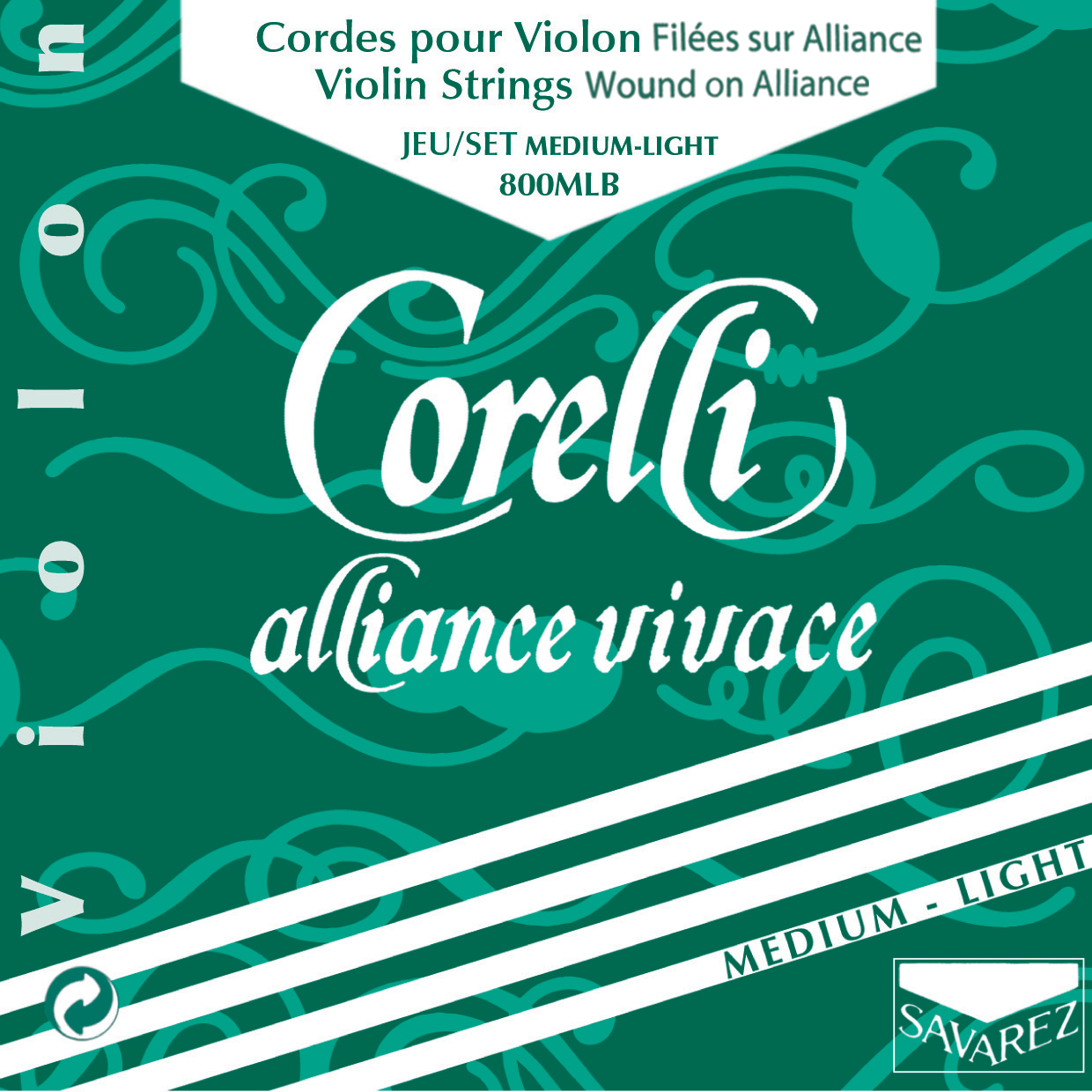 CORELLI ALLIANCE VIVACE MEDIUM LIGHT 800MLB VIOLON