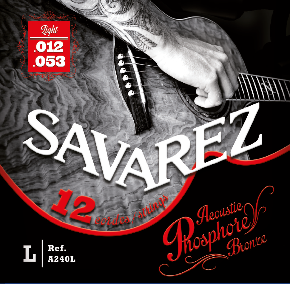 SAVAREZ ACOUSTIC PHOSPHORE BRONZE A240L