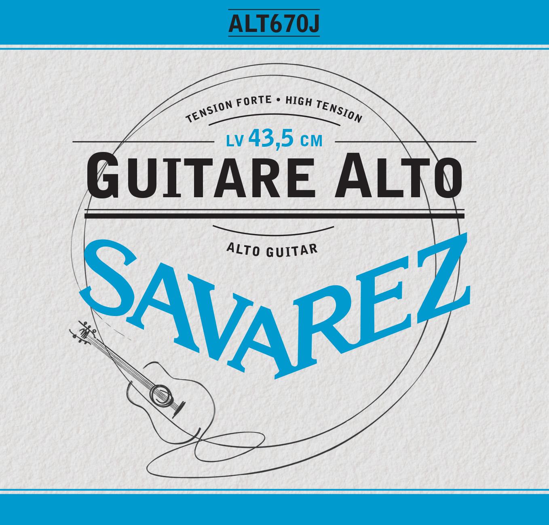 GUITARE ALTO TENSION FORTE ALT670J
