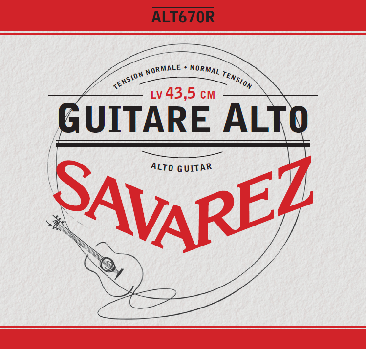 GUITARE ALTO TENSION NORMALE ALT670R