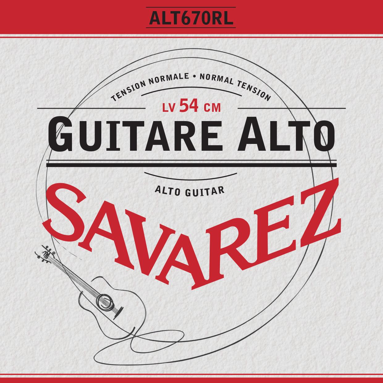 ALTO GUITAR TENSION NORMALE ALT670RL