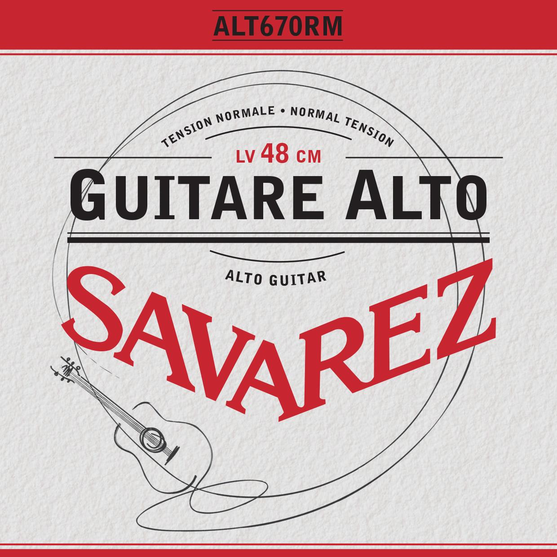 GUITARE ALTO TENSION NORMALE ALT670RM