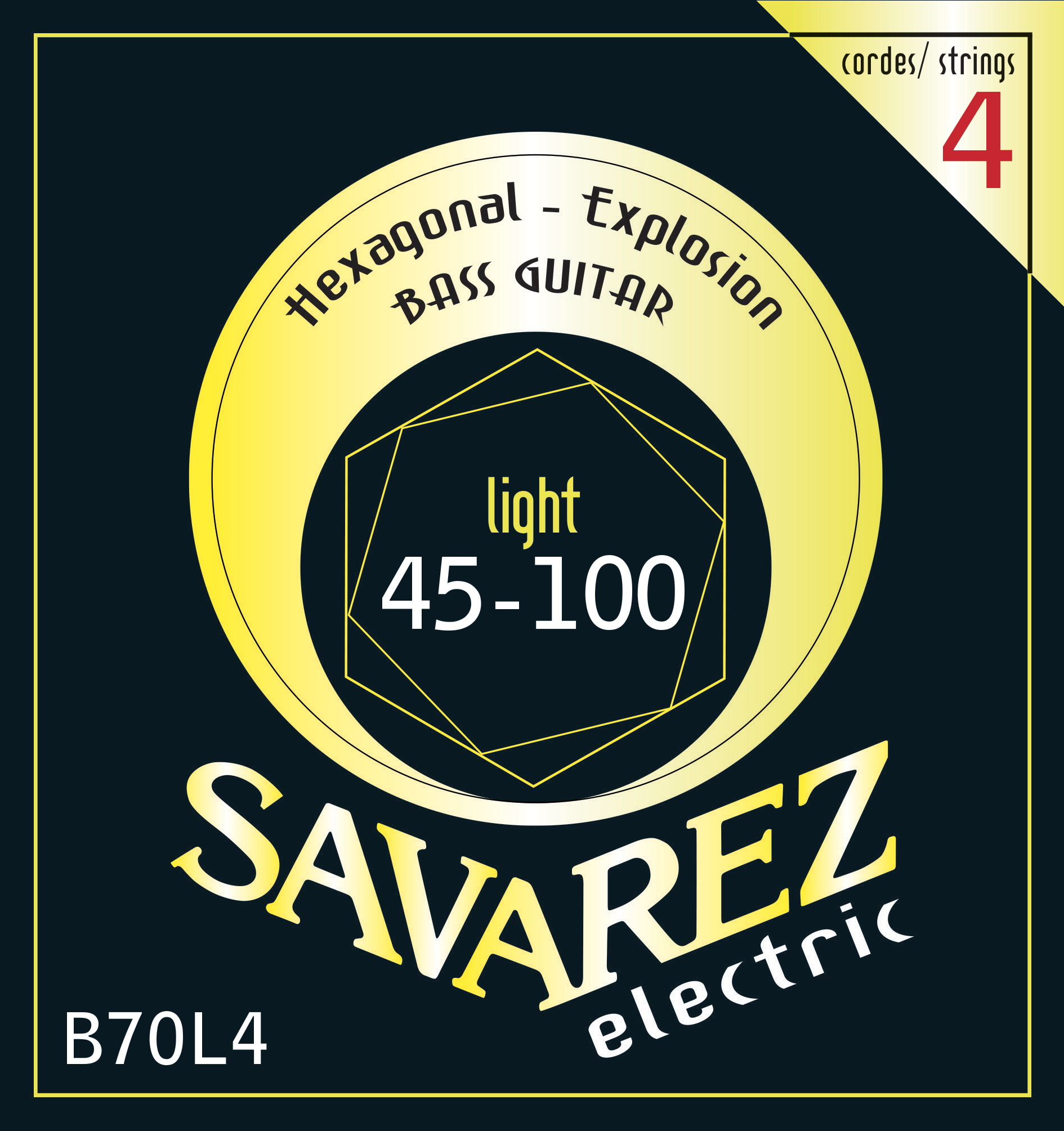 SAVAREZ ELECTRIC HEXAGONAL EXPLOSION BASSE B70L4
