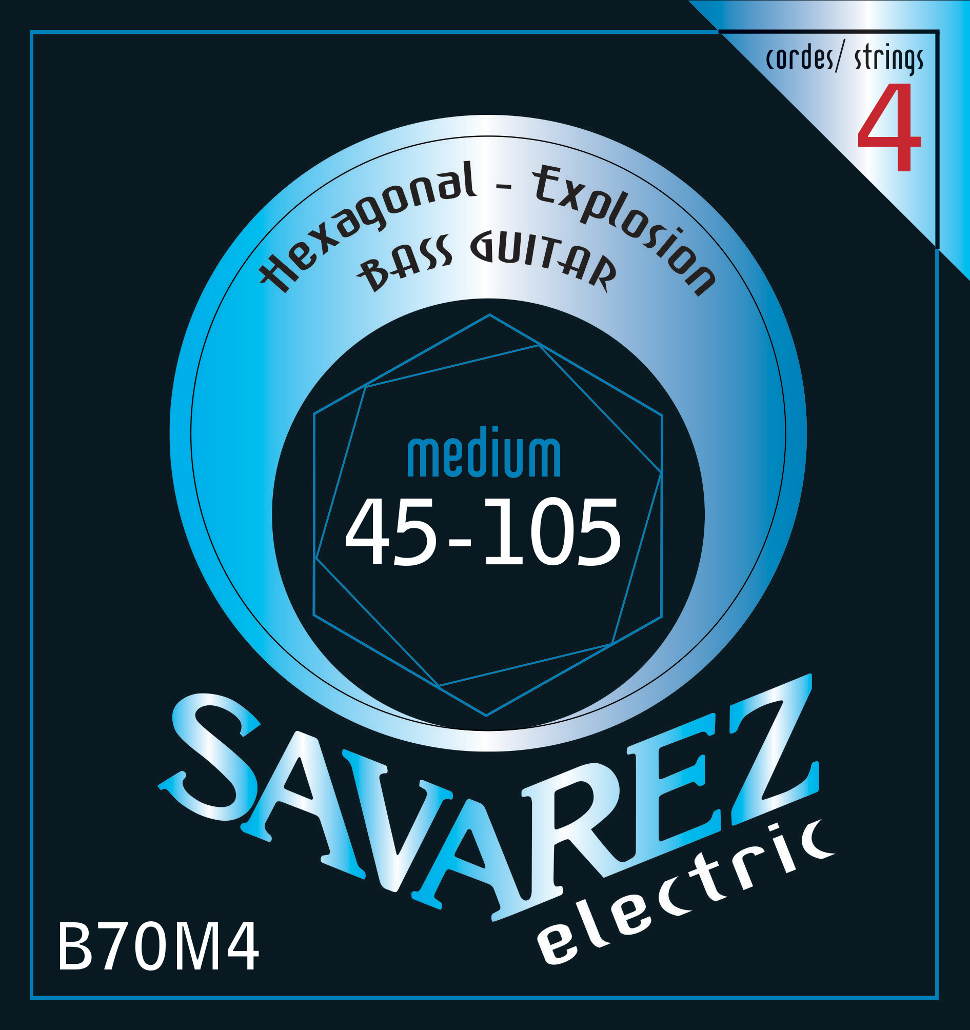 SAVAREZ ELECTRIC HEXAGONAL EXPLOSION BASSE B70M4