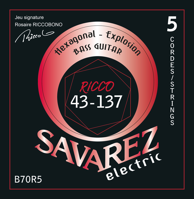 SAVAREZ ELECTRIC HEXAGONAL EXPLOSION BASSE B70R5