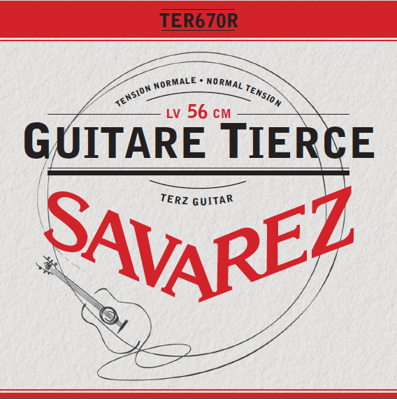 GUITARE TERZ TENSION NORMALE TER670R