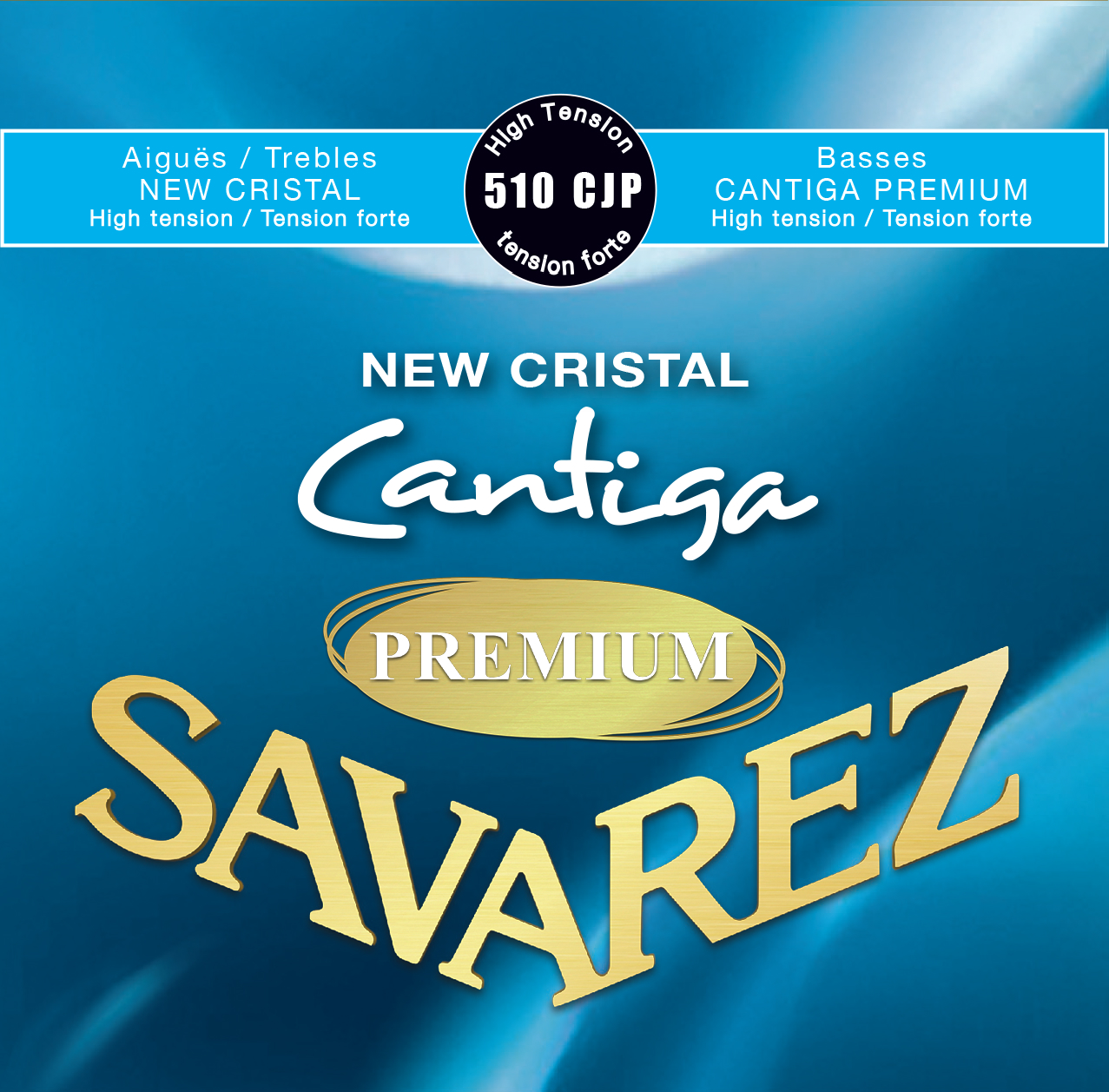 NEW CRISTAL CANTIGA PREMIUM TENSION FORTE 510CJP