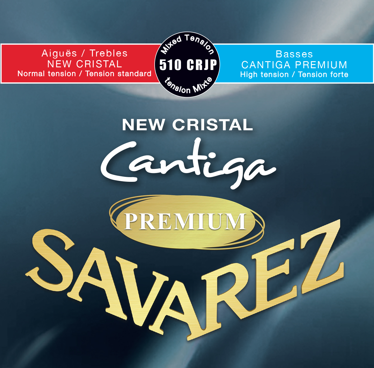 NEW CRISTAL CANTIGA PREMIUM TENSION MIXTE 510CRJP