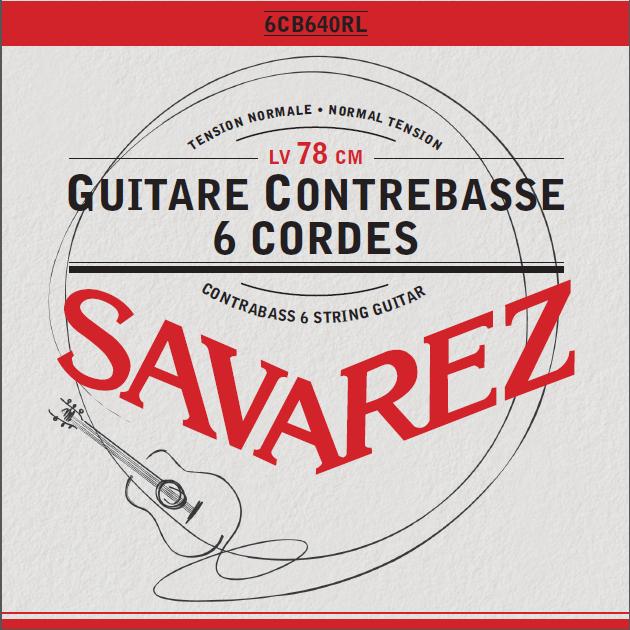 GUITARE CONTREBASSE 6 CORDES 6CB640RL