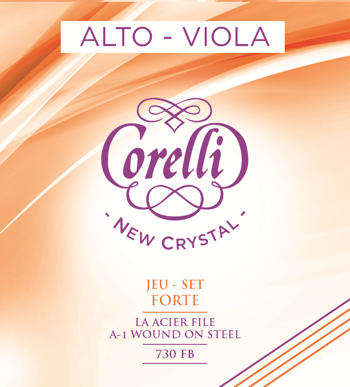 CORELLI NEW CRYSTAL FORTE 730FB ALTO
