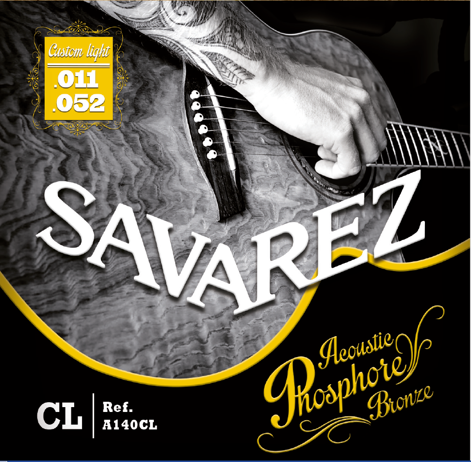 SAVAREZ ACOUSTIC PHOSPHORE BRONZE A140CL