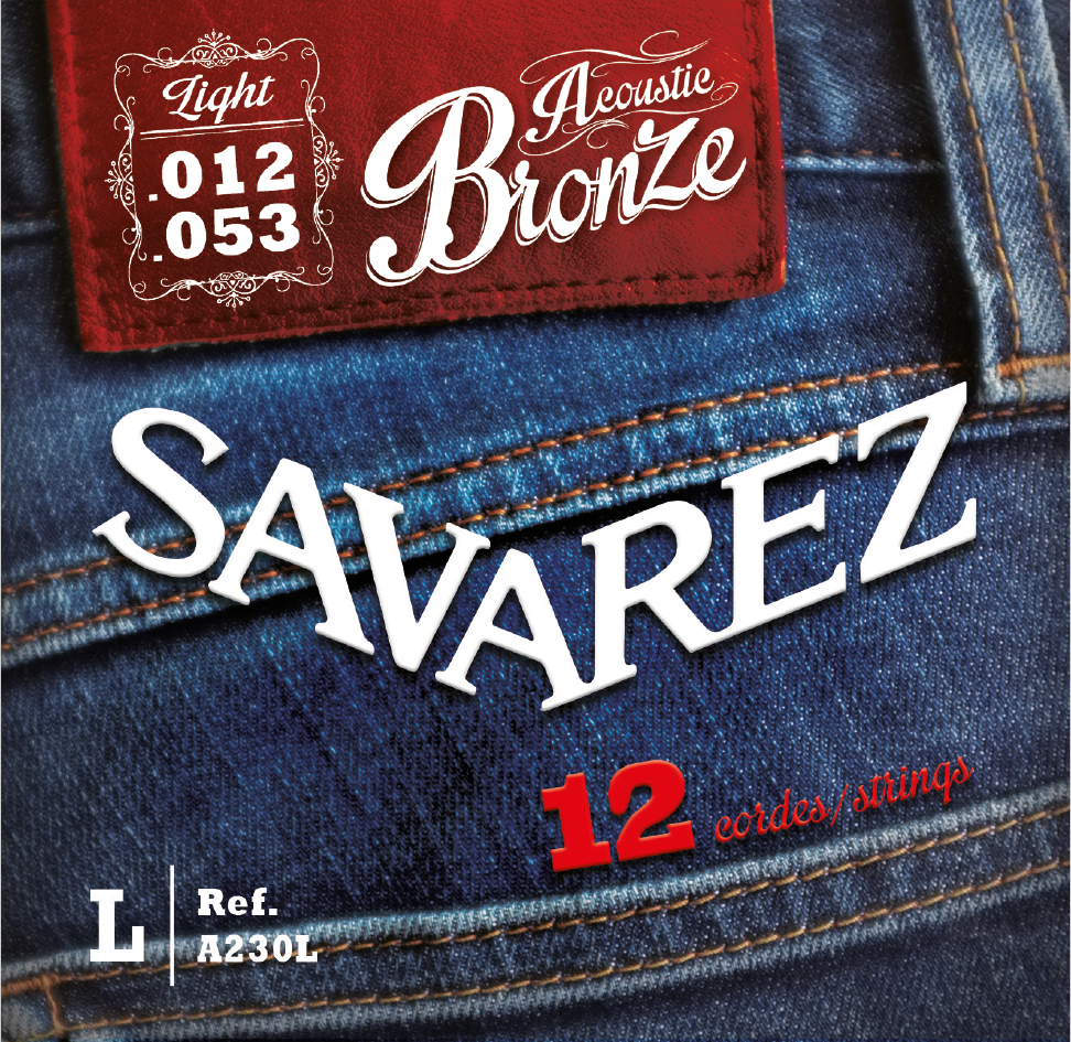 SAVAREZ ACOUSTIC BRONZE A230L
