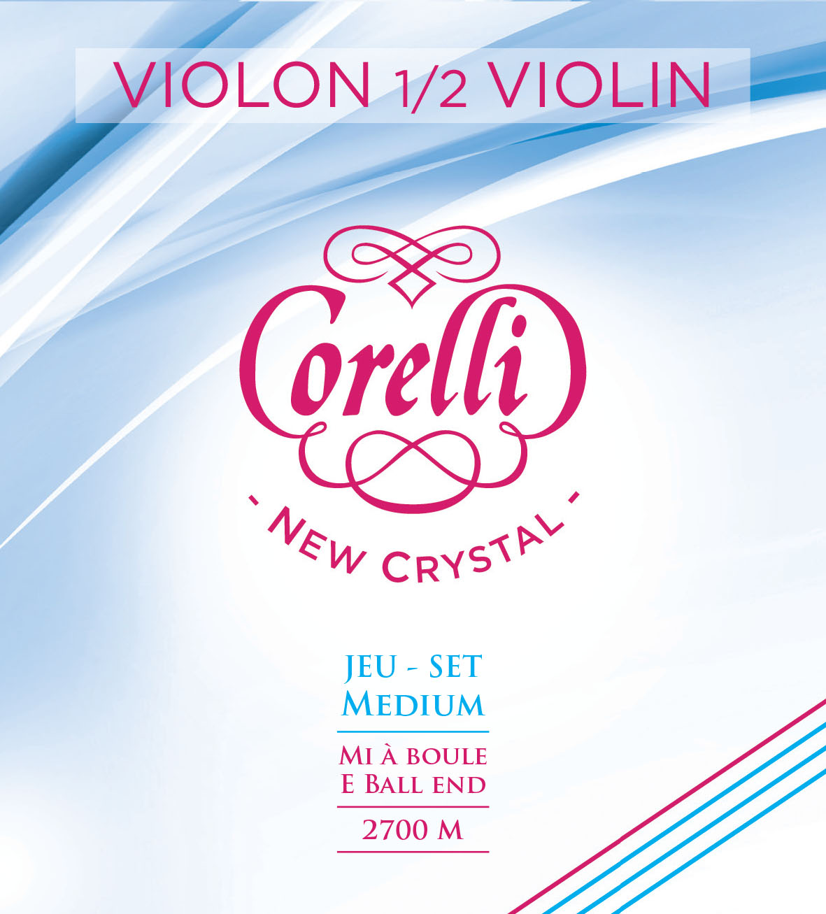 CORELLI NEW CRYSTAL MEDIUM 2700M VIOLON 1/2