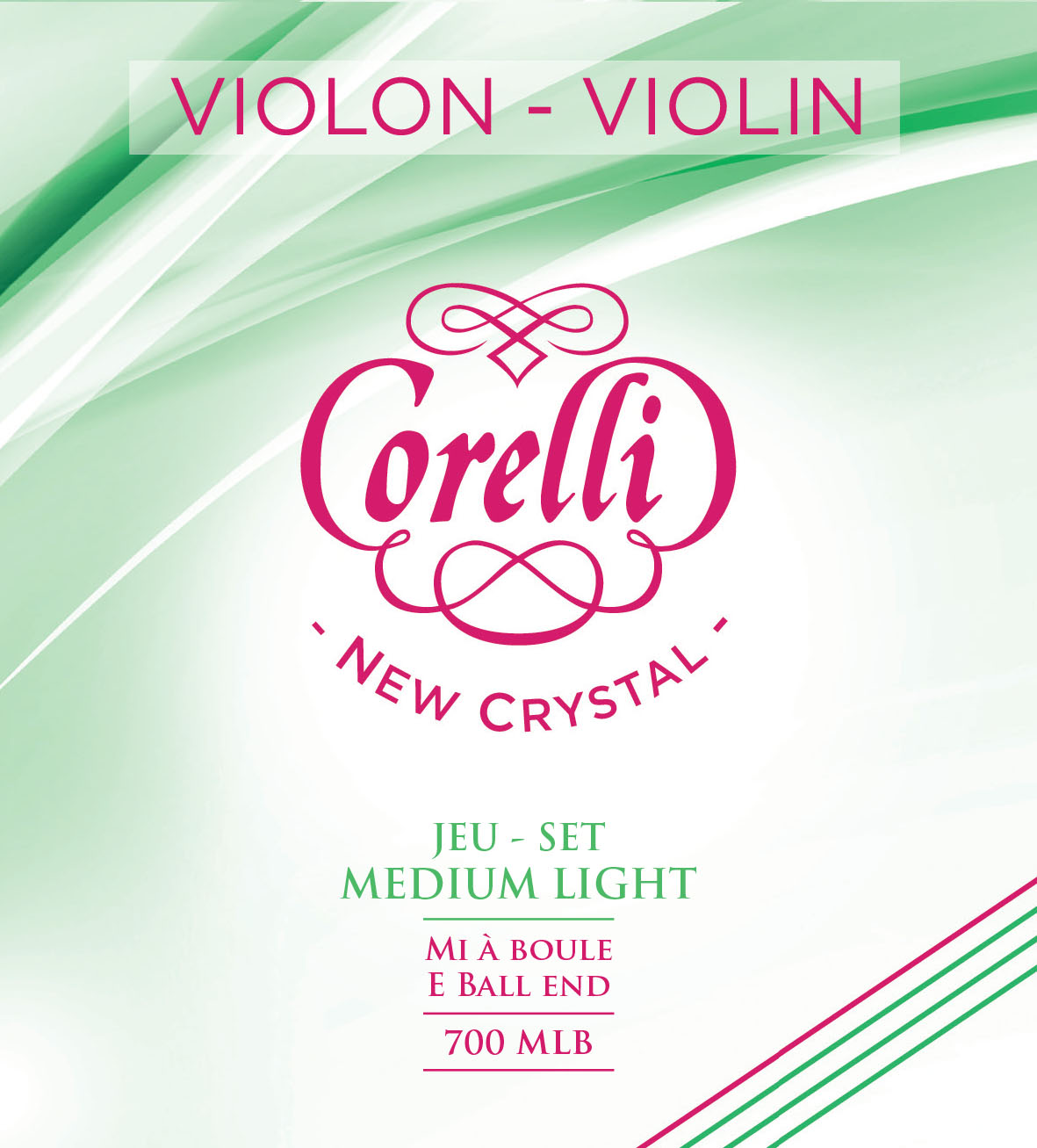 CORELLI NEW CRYSTAL MEDIUM LIGHT 700MLB Violon