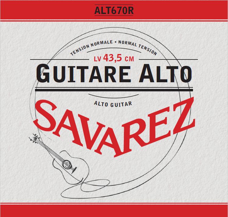 GUITARE ALTO TENSION NORMALE ALT670R