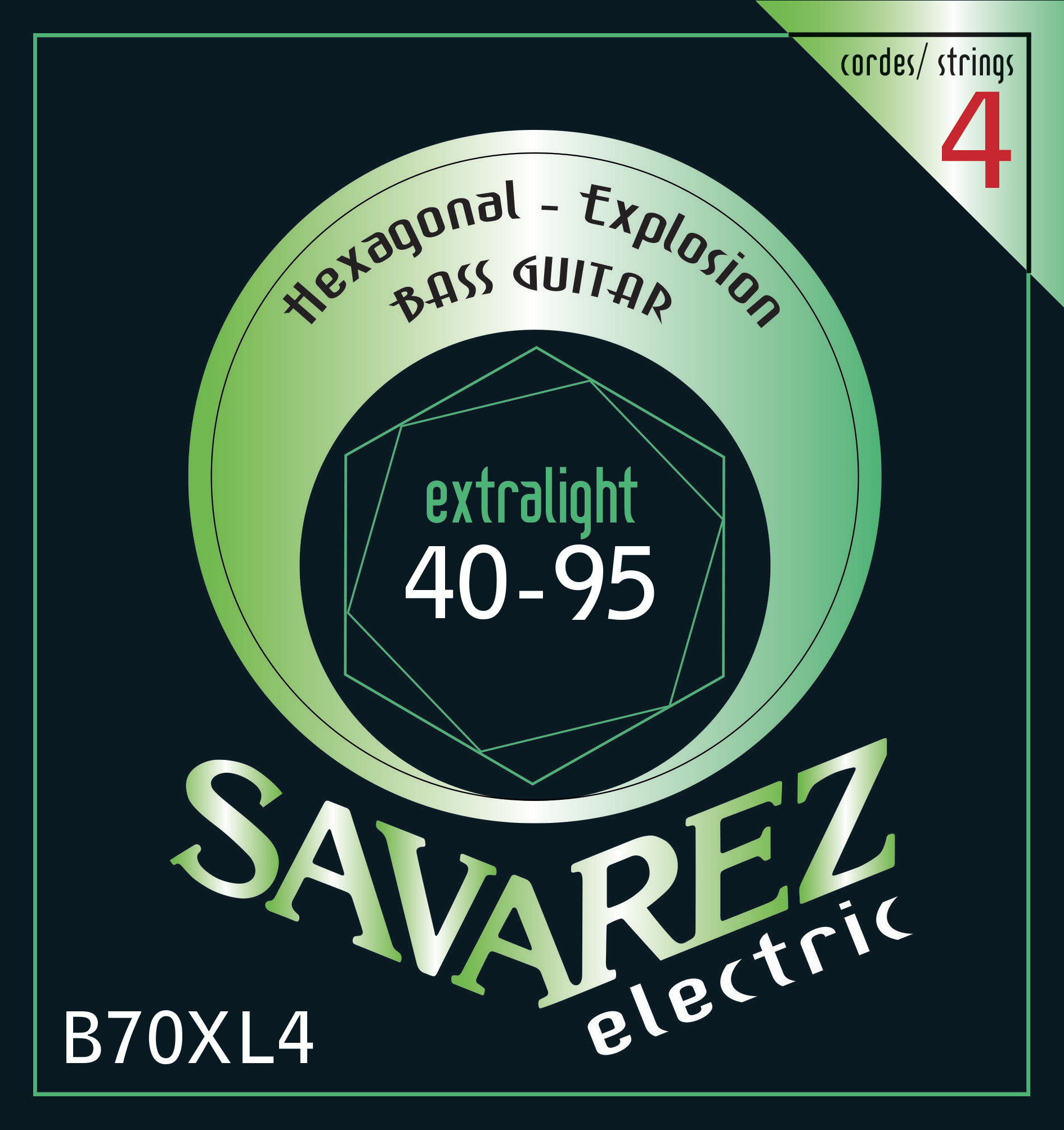 SAVAREZ ELECTRIC HEXAGONAL EXPLOSION BASSE B70XL4