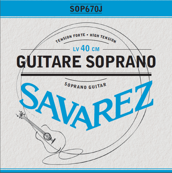 GUITARE SOPRANO TENSION FORTE SOP670J