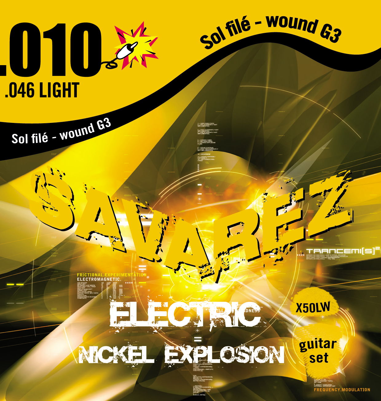 SAVAREZ ELECTRIC EXPLOSION X50LW