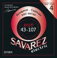 SAVAREZ ELECTRIC HEXAGONAL EXPLOSION BASSE B70R4
